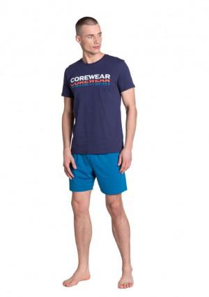 Pánské pyžamo Henderson 38870 L Tm. modrá