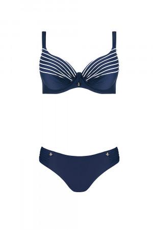 Dvoudílné dámské plavky Self S 762 M9 tmavě modrá