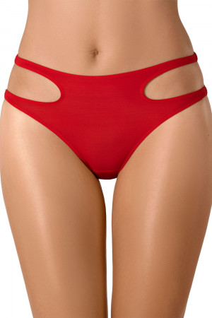 Sexy červené kalhotky Axami V-8133 červená m