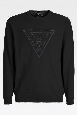 Pánská mikina U1GA09K68I1 - JBLK černá - Guess černá