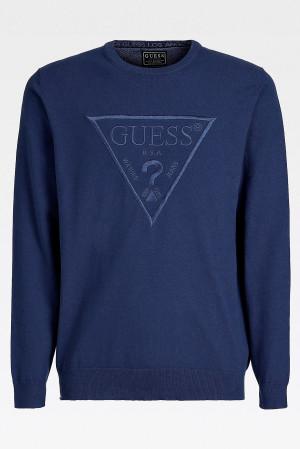 Pánská mikina U1GA09K68I1 - D780 tmavě modrá - Guess tm.modrá