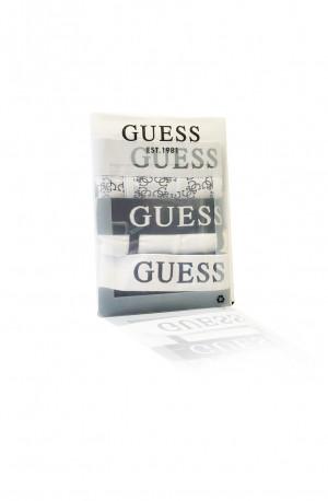 Pánské boxerky 3pack U0BG21K6YW1 - FF91 černo-bílá - Guess vícebarevná