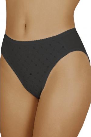 Dámské kalhotky Gina black - ITALIAN FASHION černá