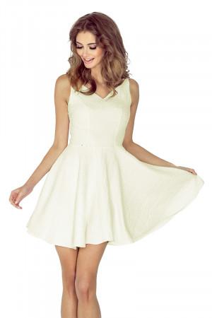 Dámské šaty 014-6 - MORIMIA krémová