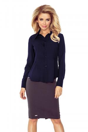 Dámská košile 016-5 - MORIMIA tmavě modrá