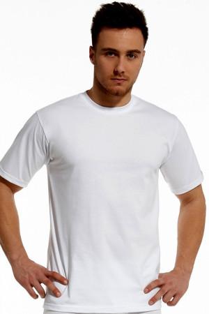 Pánské tričko 202 white - CORNETTE bílá