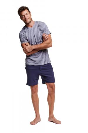 Pánské pyžamo 37309 Wasp - HENDERSON tmavě modrá