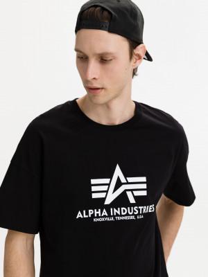 Basic Triko Alpha Industries Černá