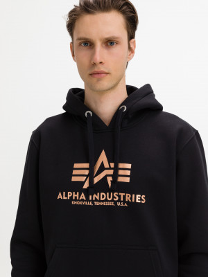 Mikina Alpha Industries Černá