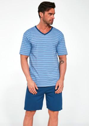 Pánské pyžamo Cornette Various 330/16 kr/r M-2XL  jeans