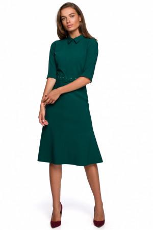 Denní šaty S231 - Stylove zelená
