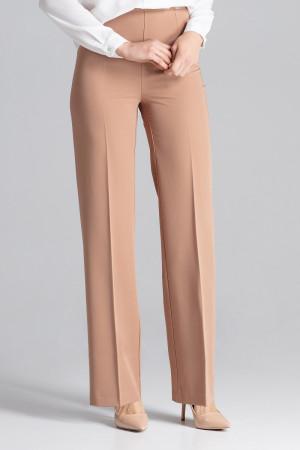 Douhé kalhoty S657 - Figl  hnědá