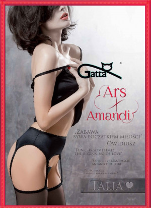 Dámské punčochové kalhoty Gatta Ars Amandi Talia 01 černá 1/2-XS/S