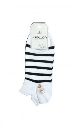 Pánské ponožky Ulpio Apollon 18NO.T055 bílá 41-43