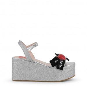 Dámské sandálky na platformě Love Moschino JA16188I07JH grey EU
