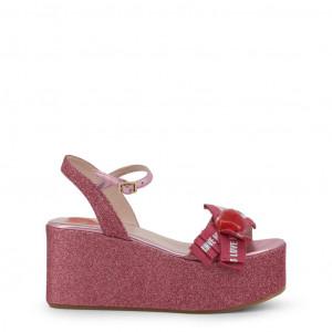 Dámské sandálky na platformě Love Moschino JA16188I07JH pink EU