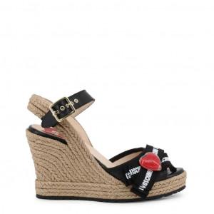 Dámské boty na klínku Love Moschino JA1631AI07JH black EU