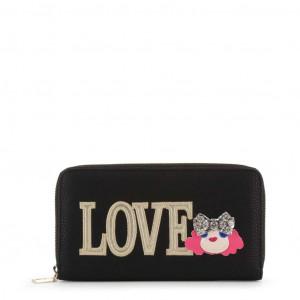 Dámská peněženka Love Moschino JC5651PP07KH black NOSIZE