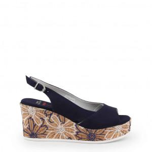 Dámské sandálky na klínku U.S. Polo Assn. DONET4173S9_T1 blue EU