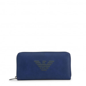 Unisex peněženka Emporio Armani Y4R169_YG90 blue NOSIZE