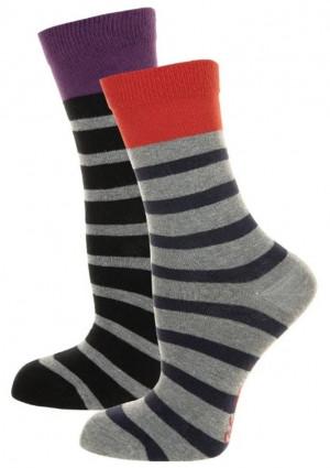 Dámské ponožky John Frank WJF2LS19-16 2PACK  UNI Dle obrázku
