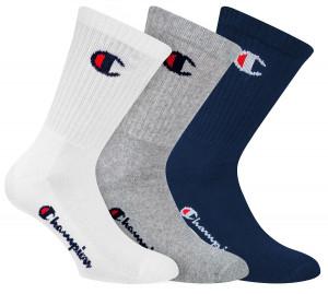3PACK ponožky Champion vícebarevné (Y08QG) 39-42