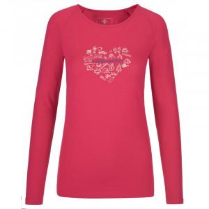 Dámské tričko Ina-w růžová - Kilpi