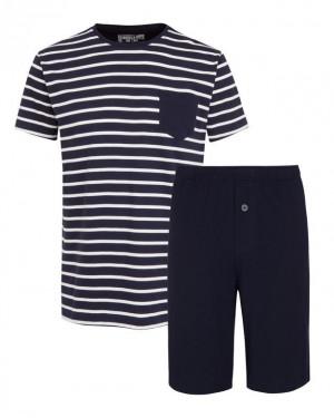 Pánské pyžamo 500007 - Jockey denim