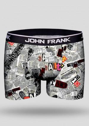 Pánské boxerky JFBD221 - NEWS - John Frank vícebarevné