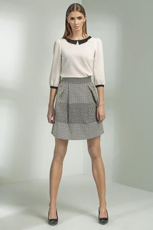 Dámská sukně SP20 - Nife  bílo-černá