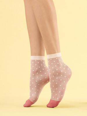 Dámské ponožky Fiore G 1108 Panna Cotta 8 den vanilla univerzální