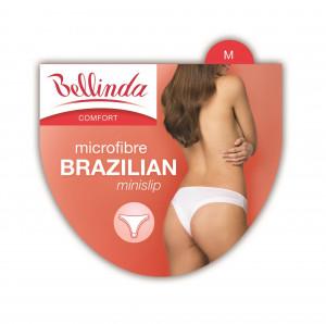 Dámské kalhotky BRAZILIAN MINISLIP - BELLINDA bílá