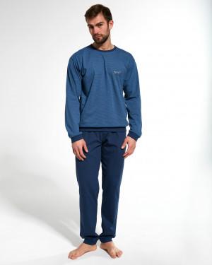 Pánské pyžamo Cornette 308/161 N-York dł/r  jeans