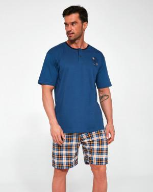 Pánské pyžamo Cornette 327/105 Ontario kr/r S-2XL jeans