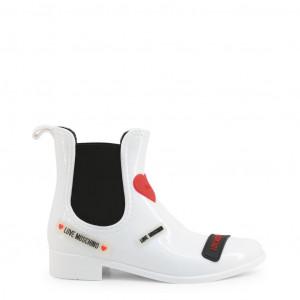 Dámské kotníčkové boty Love Moschino JA21043G1BIR white EU