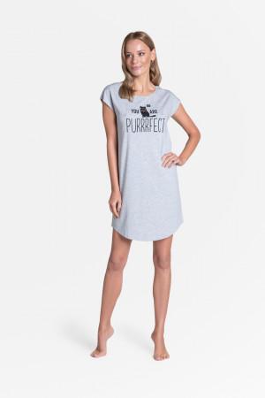 Dámská noční košile TIMBER 38904 šedá