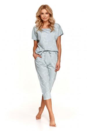 Dámské pyžamo 2490 OKSA S-XL Jaro 2021 šedá