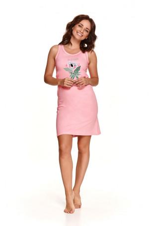 Dámská noční košile 2493 AURELIA S-XL Jaro 2021 růžová