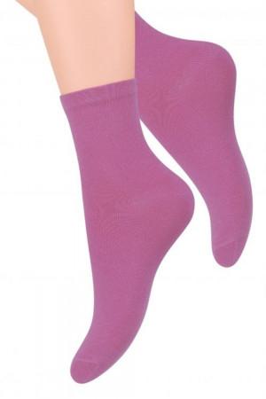 Dámské ponožky 037 violet - Steven fialová 35/37