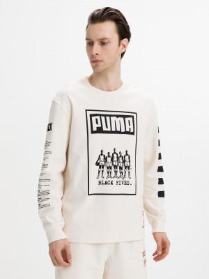 Black Fives Triko Puma Béžová