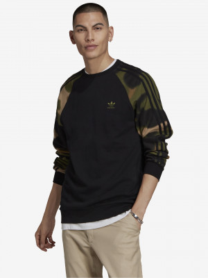 Camo Crew Mikina adidas Originals Černá