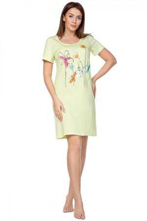 Dámská noční košile 383 BIG zelená 3XL