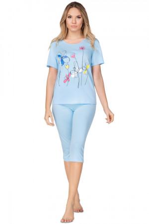 Dámské pyžamo 936  modrá