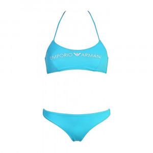Dámské dvoudílné plavky 262618 0P313 00383 modrá - Emporio Armani modrá