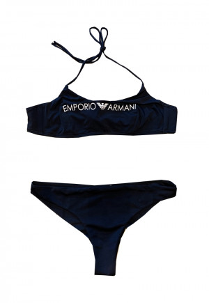 Dámské dvoudílné plavky 262618 0P313 00020 černá - Emporio Armani černá