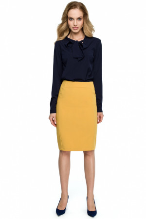 Dámská sukně S131 - Stylove žlutá