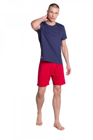 Pánské pyžamo 38866 - HENDERSON tmavě modrá