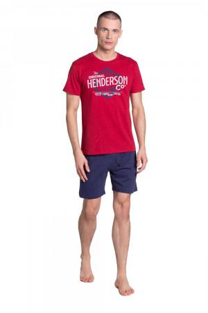 Pánské pyžamo 38869 - HENDERSON červená
