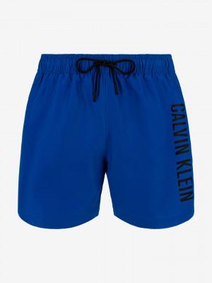 Medium Drawstring Plavky Calvin Klein Modrá