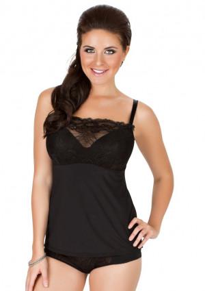Dámská košilka Parfait 7406 Sophia černá 32 FF Černá 90 G Černá